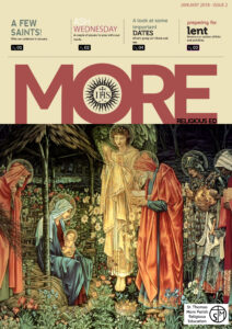 """Read the first edition of """"MORE"""", the Religious Education Newsletter for the Month of January 2018."""