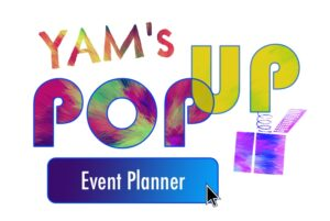YAM Pop Up Event Graphic